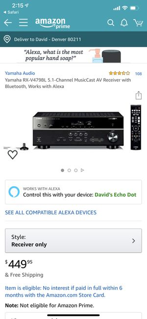 Home Stereo System for Sale in Denver, CO