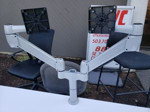 SpaceCo SpaceArm Dual Computer Monitor Arms / Stand for Sale in Clackamas, OR