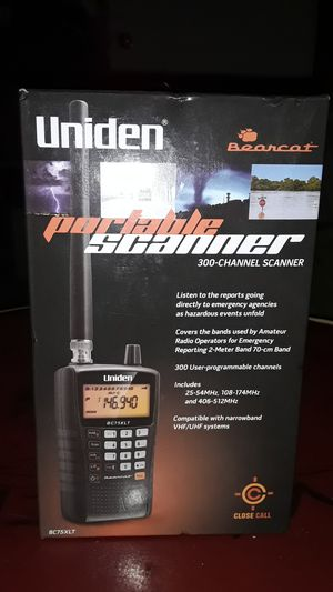 Unidentified Portable 300 Channel Police Scanner for Sale in Dallas, TX