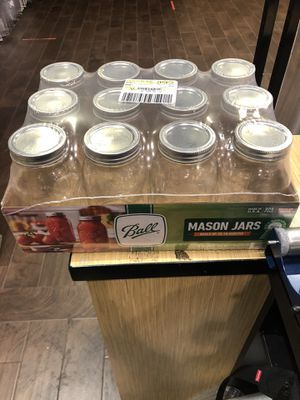 BALL 32oz Canning Mason Pickle Jar - 12 Pack for Sale in Chicago, IL