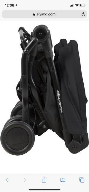 Mountain buggy nano duo/ double stroller compact folding in black brand new in box for Sale in New York, NY