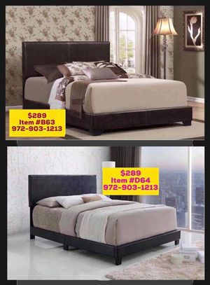 Bed with mattress free delivery for Sale in Richardson, TX