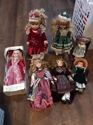 Porcelain dolls for Sale in Auburndale, FL