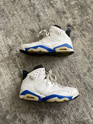 Air Jordan Retro 6 Sport Blue for Sale in Fresno, CA