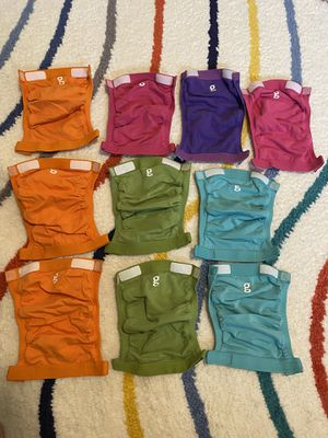 10 G diapers with cloth inserts for Sale in Seattle, WA