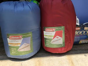 Two Coleman sleeping bags for Sale in Kernersville, NC