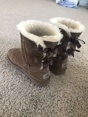 ugg boots with bows for Sale in Ashburn, VA