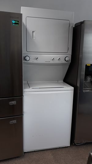 "27"" stackable washer/gas dryer unit brand new scratch and dent for Sale in Maryland City, MD"