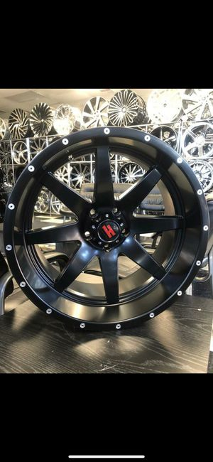33 1250 24 RIMS AND TIRES for Sale in Phoenix, AZ