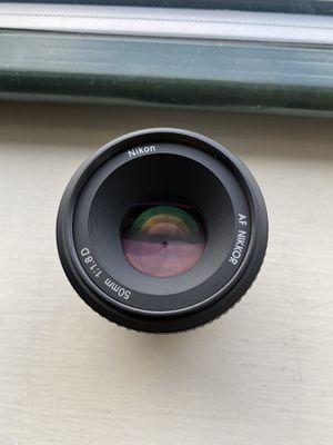 Nikon camera lens 50mm f1.8 for Sale in Boston, MA