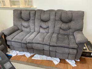 Dual Reclining Couch (Sofa) for Sale in Manassas, VA