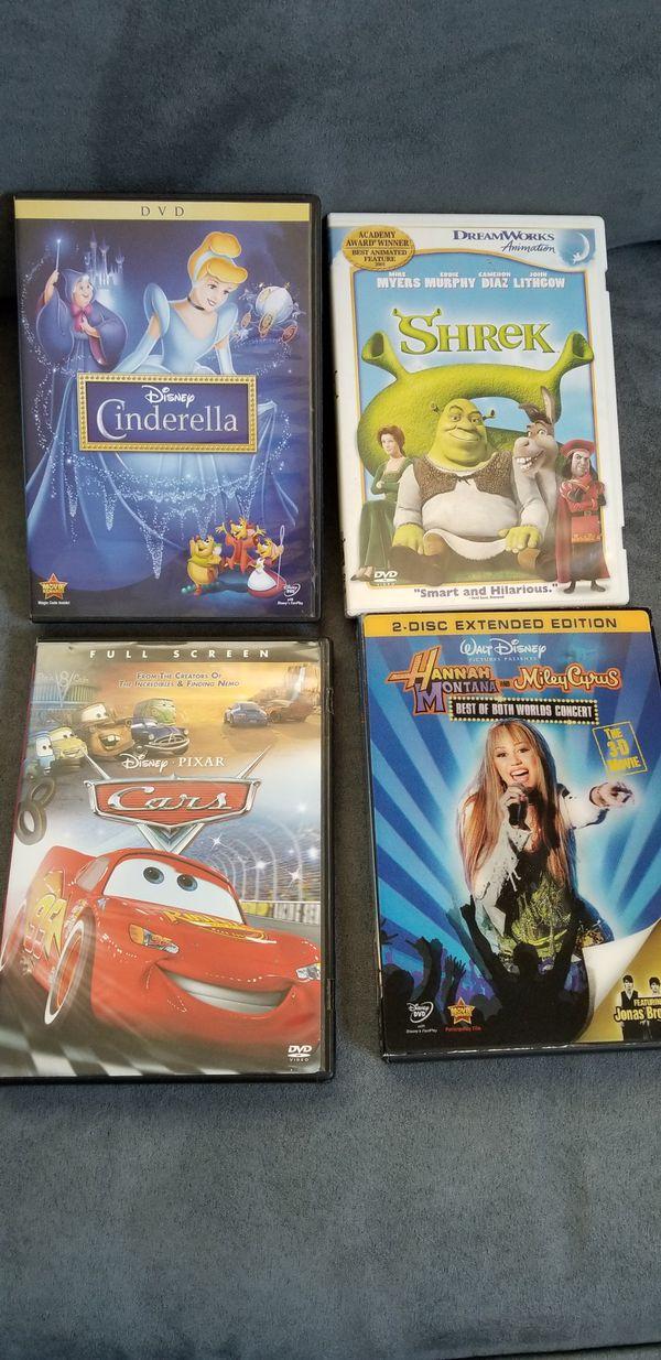 Disney pixar dvds