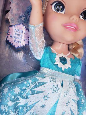 Disney Frozen Elsa Doll Cartoon Movie Olaf Muñeca Kid Toy for Sale in San Jose, CA