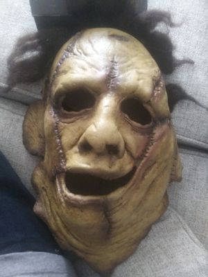 Leather face mask never used for Sale in Phoenix, AZ