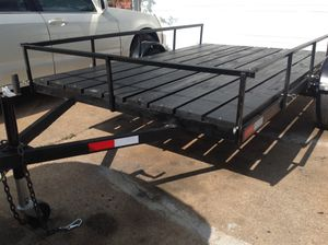 6'x10' Utility Trailer like new for Sale in Houston, TX