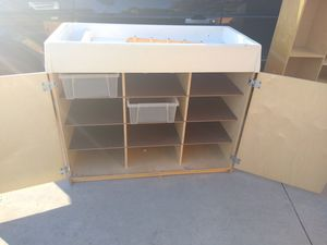 Changing table with storage for Sale in Norwalk, CA