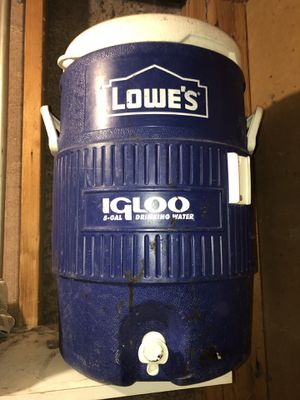 5 gallon igloo cooler ice chest for Sale in Mesa, AZ