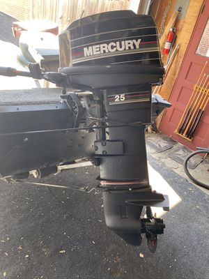 25 HP Mercury. Perfect running condition for Sale in Wheat Ridge, CO