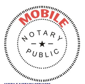 Mobile notary /notario móvil for Sale in Dallas, TX