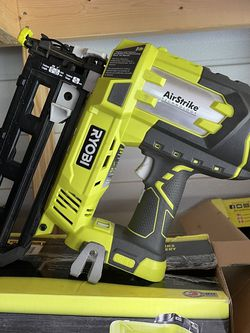 Ryibi 16ga Air Strike Nailer Tool Only Mint Condition for Sale in Plant City,  FL