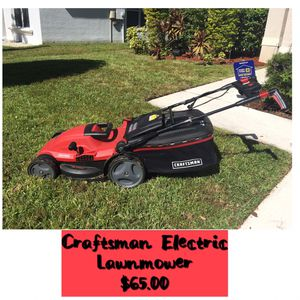 Electric (corded) Lawnmower NOT BATTERY OR GAS OPERATED for Sale in Tampa, FL