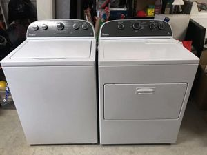 Almost new whirlpool electric dryer set for Sale in Brentwood, CA