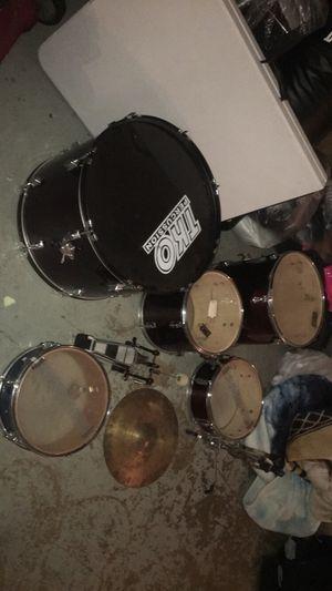 TKO drum set for Sale in Dallas, TX