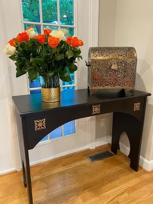 "Lovely Handcrafted & High Quality Table Imported From Morocco 47.5""L x 20""W x 36""H for Sale in Vienna, VA"