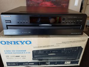 ONKYO 6 CDs player New never used for Sale in Las Vegas, NV