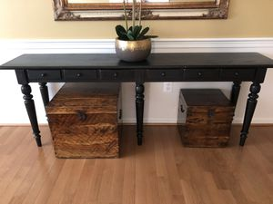 Small chest, solid wood for Sale in Sterling, VA