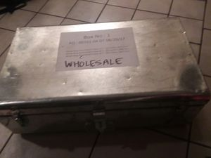 Metal box storage container for Sale in San Diego, CA