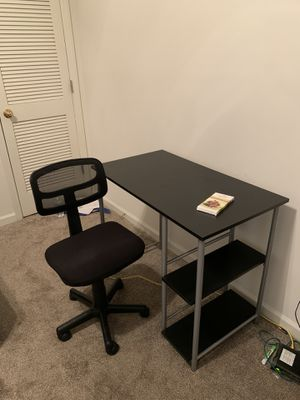 Desk and Chair for Sale in Rocky Mount, NC