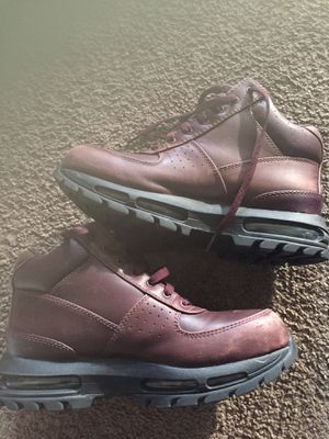 Burgundy Nike Boots for Sale in Baltimore, MD