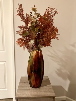 Large Vase with Fake Plant for Sale in West Hollywood, CA