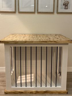 Custom Wood Dog crate Or Kennel for Sale in Litchfield Park,  AZ