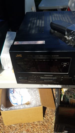 JVC RX-770V stereo receiver A/V w/ remote audio video controller for Sale in San Diego, CA