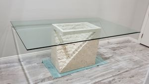 Contemporary Glass Dining Dinner Table for Sale in Las Vegas, NV