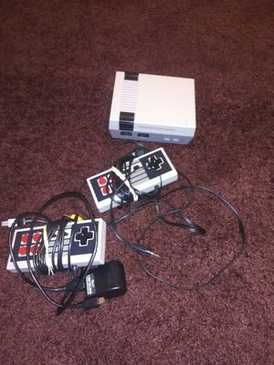 Nintendo classic. Has over 520 games . comes with 2 controllers also for Sale in Cleveland, OH