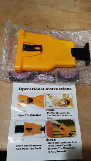 Chainsaw sharpener for Sale in Valley Stream, NY