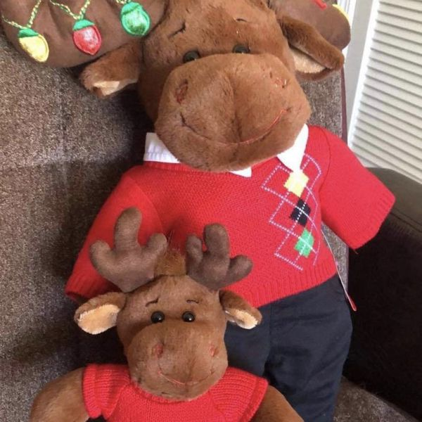 Build A Bear Christmas Moose