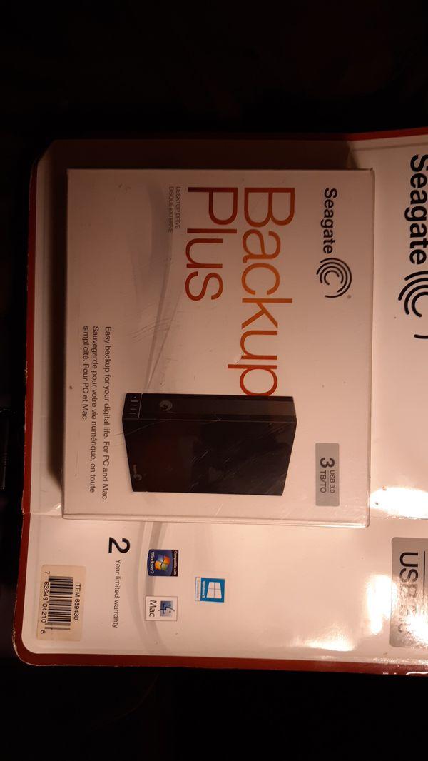Seagate Backup plus 3TB