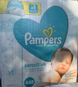 Pampers Sensitive Baby Wipes for Sale in Candler, NC