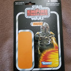 Boba Fett Toy Back Card. 2010 Promo. for Sale in Thousand Oaks, CA
