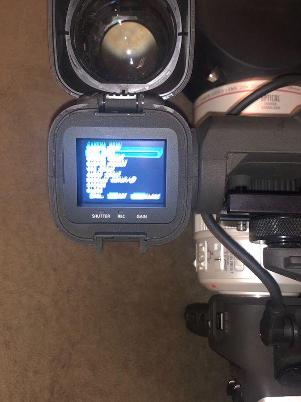 Cannon XL2 mini dvd camcorder