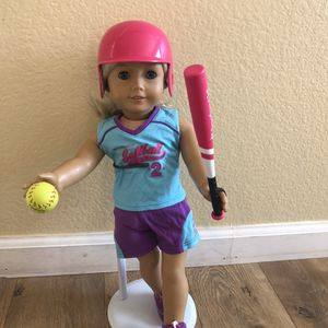 American Girl Doll Softball Outfit for Sale in San Marcos, CA