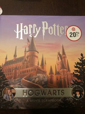 Harry Potter Hogwarts Movie Scrapbook for Sale in San Rafael, CA