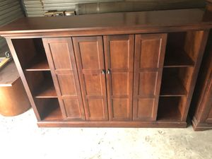 Wood Entertainment Center for Sale in Lutz, FL
