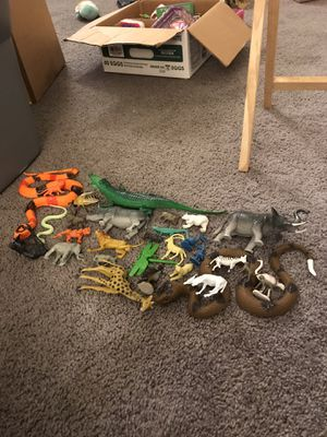 Forest animal play set! for Sale in Olympia, WA