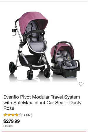 Evenflo travel system for Sale in El Cajon, CA