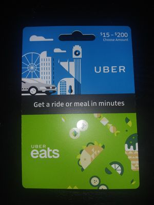 $25 uber card for Sale in Tulsa, OK